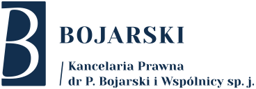 Kancelaria Prawna dr P. Bojarski i Wspólnicy sp. j.
